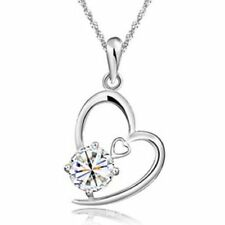 Crystal Silver Plated Fashion Necklaces & Pendants