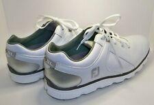 New listing FootJoy Men's Pro SL Golf Shoes Size 10 M White/Gray Style #53579