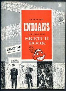 1950 CLEVELAND INDIANS YEARBOOK EX-MT 335495 (KYCARDS)