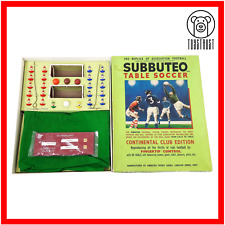 More details for subbuteo table football continental club edition set heavyweight soccer toy m2