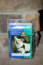 NEW TOP PAW WALKING HARNESS FOR DOGS SMALL BLACK PADDED PREVENTS PULLING