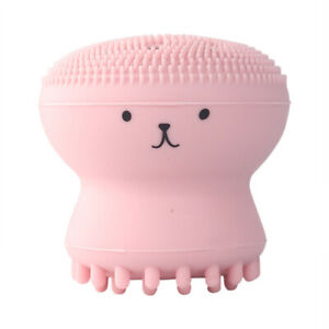 Cone Small Octopus Facial Cleansing Brushes Face Deep Cleaning Washing Massages
