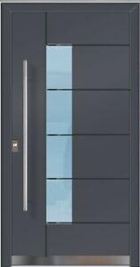 beidseitig flügelüberdeckend ALUMINIUM Alu Haustür Haustüren Tür TX5314 BFD 01