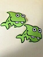 Children's Whimsical Sea Creatures - 2 - Iron-On Fabric Appliques.  (E)