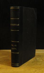 St. Nicholas Bound Annual (1913) Rare Arthur Rackham Color Plates, 1st Edition