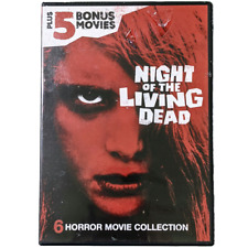 Night of the Living Dead, Plus 5 Bonus Horror Movies Collection, Widescreen Dvd
