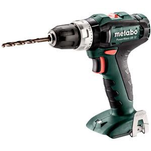 Metabo Body Only Powermaxx SB12 12v Combi Drill and Metaloc case