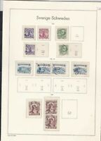 sweden 1941-44 stamps page ref 18052