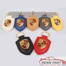 Genuine Porsche Crest Keychain