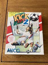 💾 Atari ST - Kick Off 2 II - Big Box - Complete Plus Instructions