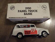COLLECTOR 1950 DELCO #17 PANEL TRUCK BANK, ERTL!