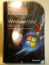 *BRAND NEW SEALED* Microsoft Windows Vista Ultimate DVD UPGRADE 32 & 64-bit RARE