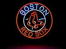 "New Boston Red Sox Light Neon Sign Beer Bar Pub Gift 24""x24"" Baseball"