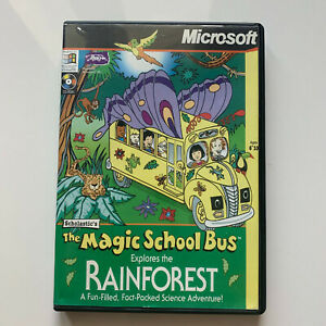 The Magic School Bus Explores the Rainforest - PC