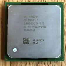 INTEL CELERON D 2.80GHZ/256/533 Socket 478 CPU, Original INTEL Disipador térmico del ventilador