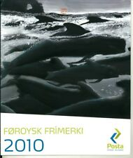Faroe Islands 2010 Year Pack - 21 Stamps, 1 Souvenir Sheet - Mint NH (S291)