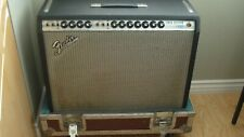 Original Vintage 1970 Fender Twin Reverb Tube Amp With Cover And Anvil Case!!!