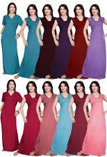 Satin Patternless TAG Nightwear for Women