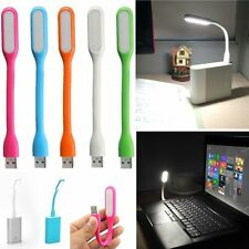 Lampara flexible Usb led luz color portatil Pc ordenador notebook ebook 1,2w 5v