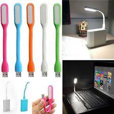Lampara flexible Usb led luz color portatil Pc ordenador notebook ebook 1,2w 5v