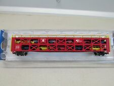 ~* BACHMANN ~ OPERATING ACCESSORIES 89' TRI-LEVEL W/AUTOS #88969 ~LOT C~ N SCALE