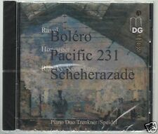 HONEGGER RAVEL RIMSKY KORSAKOV CD NEW PIANO DUO TRENKNER SPEIDEL