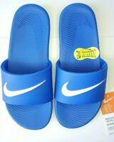 Nike Kawa Slide (GS/PS) Hyper Cobalt / Blue (819352 400) Kids Sandals