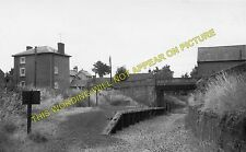 Ledbury Town Halt Railway Station Photo. Ledbury - Dymock. Gloucester Line. (3)