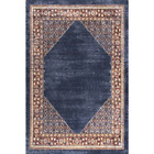 nuLOOM Area Rug Synthetic 3 ft. x 5 ft. Loomed Weave Navy Blue Machine-Made