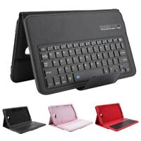 Wireless Tablet Bluetooth Keyboard Case Cover For Samsung Galaxy Tab A 10.1 T580