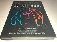 Imagine John Lennon Forward By Yoko Ono Hardcover Book