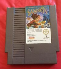 Little Samson Nintendo NES Original Authentic Very Rare Game PAL Version Taito