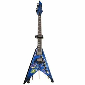 Megadeth Dave Mustaine Rust In Peace Dean 1/4 Scale Guitar Axe Heaven
