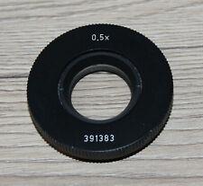 Leica/Wild Microscope Microscope Attachment Lens 0,5x Stereo Microscope (391383)