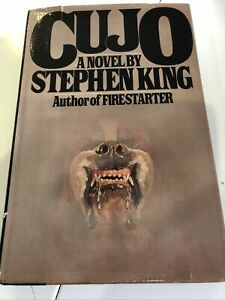 Cujo Stephen King Hardback Viking 1st/1st Edition 1981 VGC+