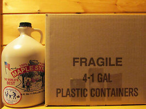 Certified Organic Pure Maple Syrup  Grade A 4 Gallons Sawyers Maple Farm