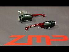 YAMAHA YFZ 450 03 - 06 F3 ASV RED CLUTCH AND BRAKE LEVERS KIT