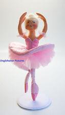 """SUGARPLUM FAIRY Ballet Dancer Pink Ballerina 9"""" Annalee Valentine's Day Gift NEW"""