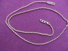 STERLING 925 SILVER  NECK CHAIN, Solder Link 16M Choose length or we send 50cm