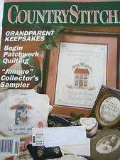 Country Stitch May 1992 Back Issue Magazine Cross Stitch Pattern Rabbit Sampler