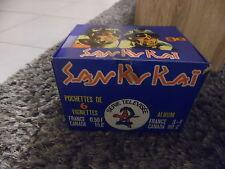 Boite de 100 pochettes de 6 images SAN KU KAI - Vintage - No panini