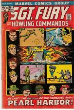 Sgt. Fury and his Howling Commandos #101: Marvel Comics (1972) VG- (3.5)