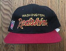 Vintage Washington Redskins Sports Specialties Script NFL Snapback Hat