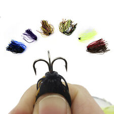 Fly Tying Materials Soft Lure Worm Artificial Fish Lures Silicone Worms Baits P9