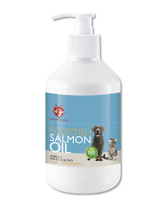 HEALTHY HOUNDS SCOTTISH SALMON OIL OMEGA 3 for dogs 500ml *SPECIAL OFFER