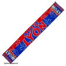 ECHARPE SUPPORTER LYON football scarf schal no maillot casquette drapeau fanion