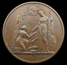 More details for 1832 reform bill 51mm bronze medal - by wyon