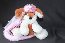 Barbie Dancing Sleepover Interactive Plush Dog w/blanket