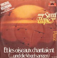"7"" Sweet People Et Les Oiseaux Chantaient Mint- Top,UNPLAYED,Polydor"