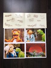 NEW Disney Store Limited Edition The Muppets Lithograph Set of 4